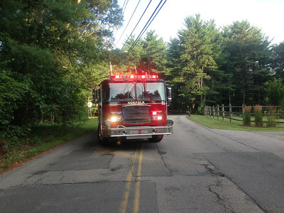 Area 107 Union Street - Live Electrical Wires Down:  August 4, 2013