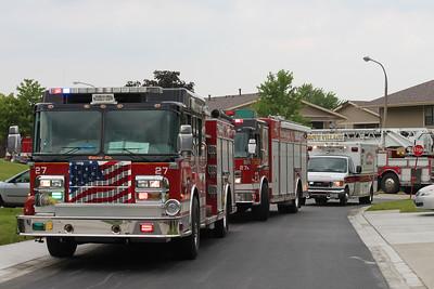 Hanover Park Box Alarm fire, 6-12-2013