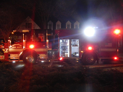 Wheaton House Fire, 4-1-2013