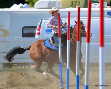 23 Sunday, August 25, 2013 Pole Bending Horse