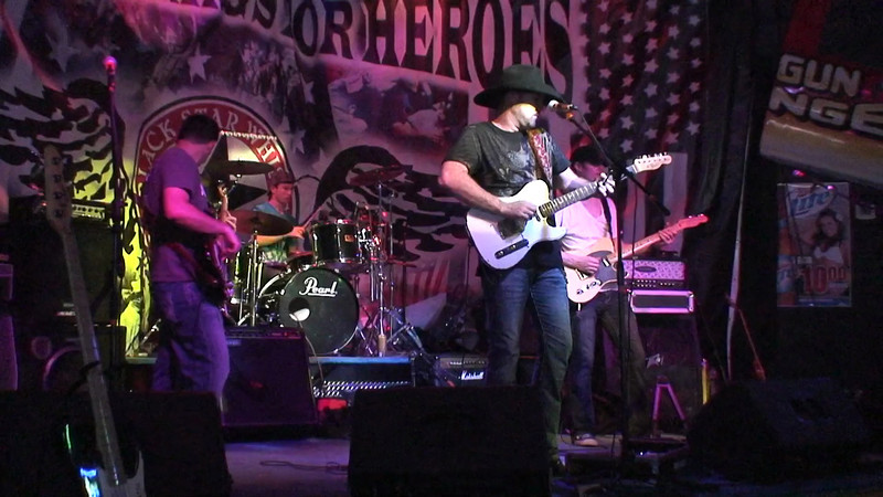 Jamie Davis Band covers Hank JR at High Octane Saloon