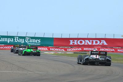 2013 INDY CAR RACING