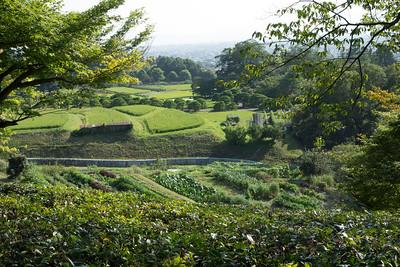 Shugakuin Imperial Villa, View
