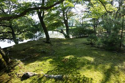 Shugakuin Imperial Villa, Garden