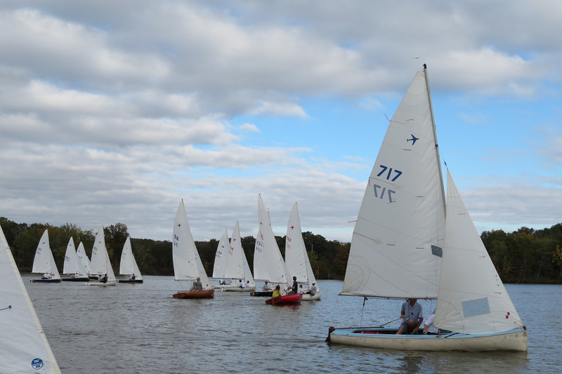 At the start, race 4.