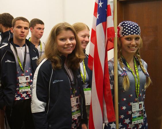2013 0630 JWOC Opening (US team)