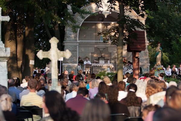 2013_08_15 Assumption Evening Mass