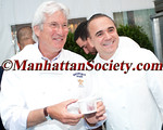 "Richard Gere,Jean-Georges Vongerichten attend 28th Annual Chefs' Tribute to Citymeals-on-Wheels: ""RUMBLE AT THE ROCK: NY vs. CA CHEF SHOWDOWN"" on Monday, June 10, 2013 at Rockefeller Center Plaza in New York City  PHOTO CREDIT: Copyright © 2013 Manhattan Society.com by Chris London"