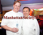 "Jeremy McMillan, Daniel Bolud attend 28th Annual Chefs' Tribute to Citymeals-on-Wheels: ""RUMBLE AT THE ROCK: NY vs. CA CHEF SHOWDOWN"" on Monday, June 10, 2013 at Rockefeller Center Plaza in New York City  PHOTO CREDIT: Copyright © 2013 Manhattan Society.com by Chris London"