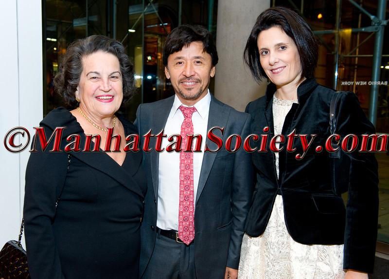 Carmen Ana Casal de Unanue, Carlos Galvez, Alicia Galvez