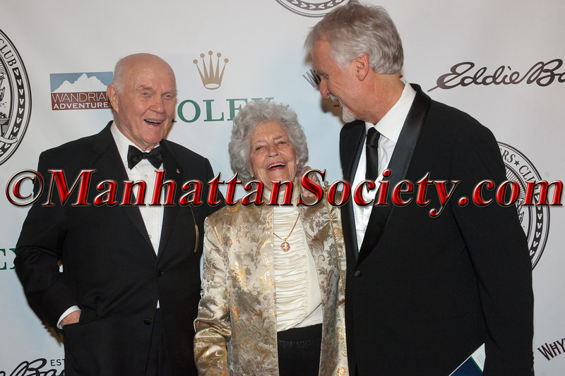 Explorer's Club Annual Dinner at the Waldorf Astoria: Sacred Places_Step and Repeat
