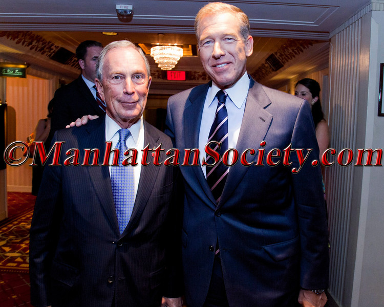 Mayor Mike Bloomberg, Brian Williams