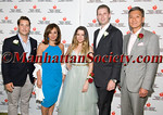 Co Chair Andrew Graves, Rosanna Scotto, Heart Hero Caroline Loeb, Honoree Eric Trump, Co Chair Dr  Henry Woo
