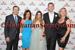Honoree Dr  James Taylor, Rosanna Scotto, Heart Hero Caroline Loeb, Honoree Eric Trump, Barbara Poliwoda