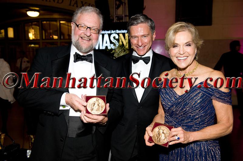 MAS Jacqueline Kennedy Onasis Medal Recipient, David Rockefeller, Jr., Vin Cipolla, MAS Jacqueline Kennedy Onasis Medal Recipient, Dr. Judith Rodin