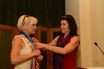 Mika Brzezinski presented with Women in Public Life Award by Diana DiMenna