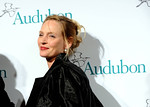 Uma Thurman attends The National Audubon Society's first gala to jointly award the Audubon Medal and the inaugural Dan W. Lufkin Prize for Environmental Leadership, Thursday, Jan. 17, 2013, in New York.  (Photo by Diane Bondareff/Invision for The National Audubon Society)