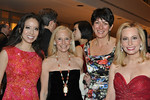 Angela Chen  (Gala Co-chair), Karen LeFrak  (Board Member and Chair, Special Events Committee), Ghislaine Maxwell, and Gillian Miniter_photo Linsley Lindekins