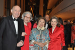 Donald Tober, Barbara Tober, Shirley Young  (Gala Co-chair), Sandra Warshawsky (Board Member)_photo Linsley Lindekins