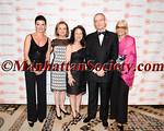 Honoree Gaby Vargas, Rosario Pérez,  Maria Hinojosa, Honoree William R  Rhodes, Lynne Patterson