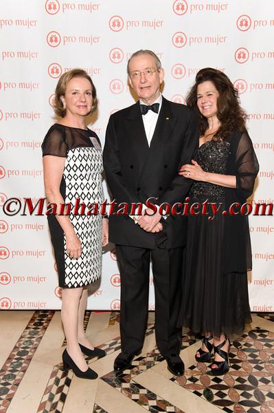 Rosario Pérez, Honoree William R Rhodes, Louise Tilzer Rhodes