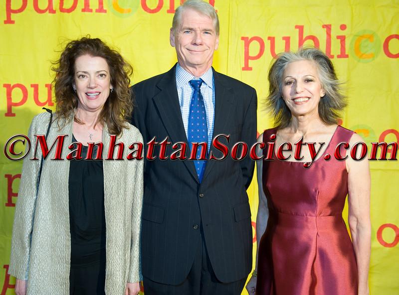 Margaret Sullivan, Rick Lawrence, Ruth Lande Shuman