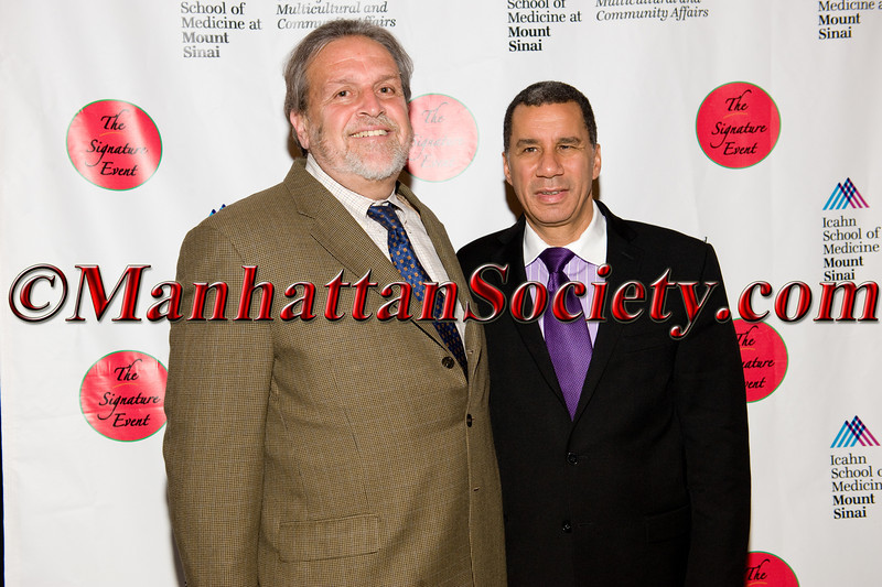 Medical School Dean, Dennis Charney, David Paterson