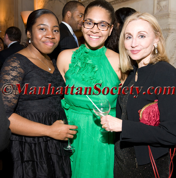 Digna Nosike, Giselle Lynch,  Cheryl Rubenstein