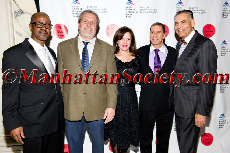 Dr  Gary Butts, Dean Dennis Charney, Mary Sliwa, David Paterson, Dr  Samuel Guillory