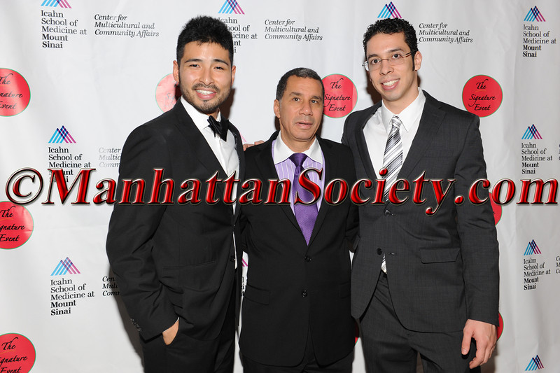 Christopher Lopez, David Paterson,  Eric Mendoza