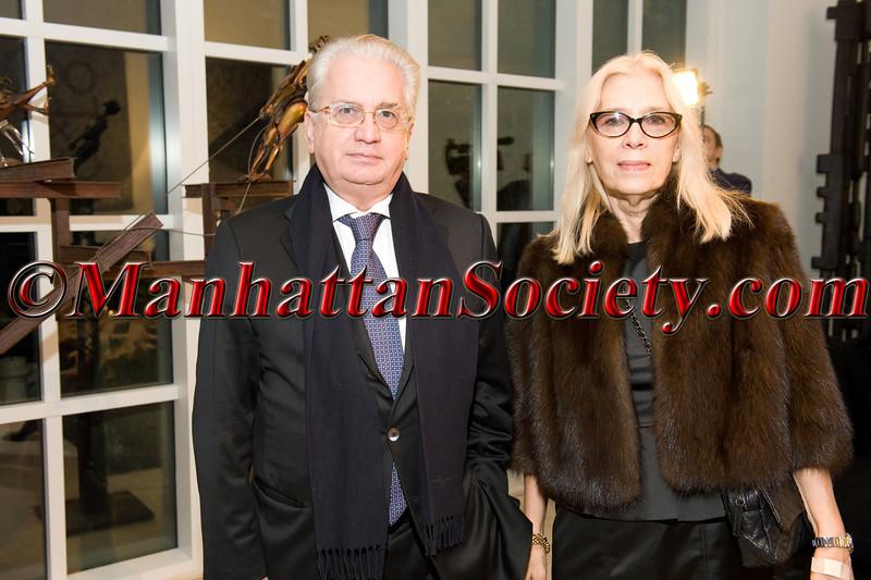 Dr  Mikhail Borisovich Piotrovsky, Irina Piotrovsky