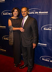 Joe and Ali Torre, founders of the Joe Torre Safe At Home Foundation, on the red carpet before the 10th anniversary gala. Photo Credit: Josh Sailor Photography