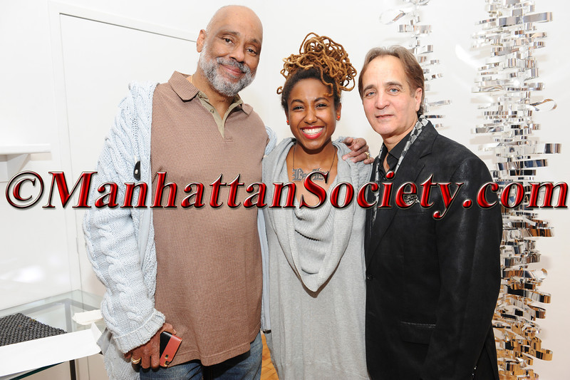 Artist Danny Simmons, Artist Chanel Kennebrew, James Cavello