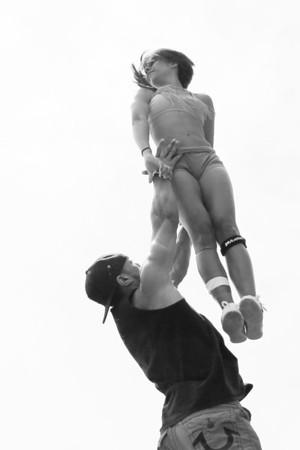 Stunt Fest 1F68A2013 BW