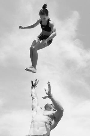 Stunt Fest 1F68A2185 BW