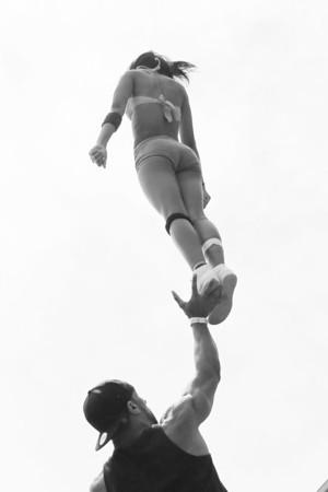 Stunt Fest 1F68A2014 BW