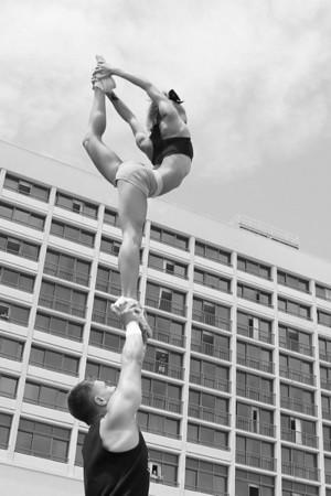 Stunt Fest 1F68A1939 BW