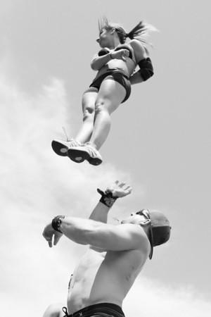Stunt Fest 1F68A2143 BW