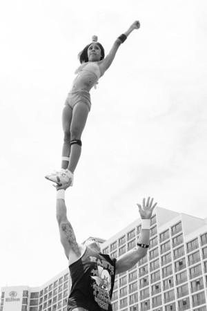 Stunt Fest 1F68A2001 BW