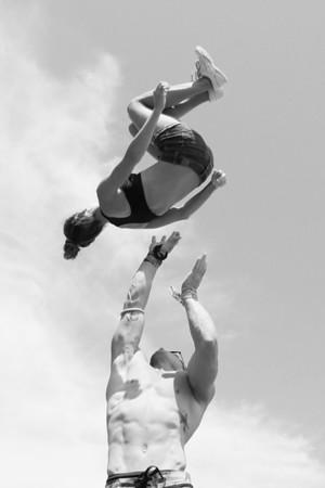 Stunt Fest 1F68A2168 BW
