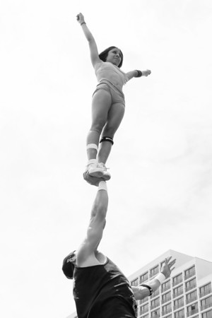 Stunt Fest 1F68A2005 BW