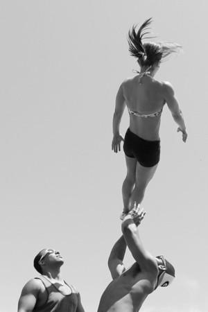 Stunt Fest 1F68A2390 BW