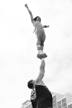 Stunt Fest 1F68A2008 BW