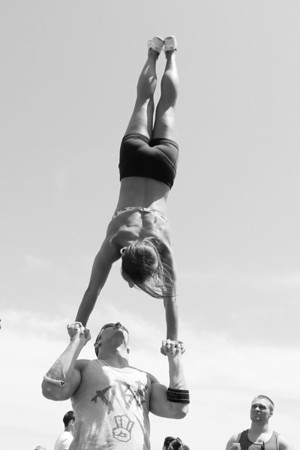 Stunt Fest 1F68A2441 BW