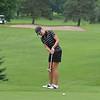 2010 N.Y.S. Women's Amateur Champ Rene Sobolewski (Crag Burn Golf Club) putts from the fringe on the par-4 15th.