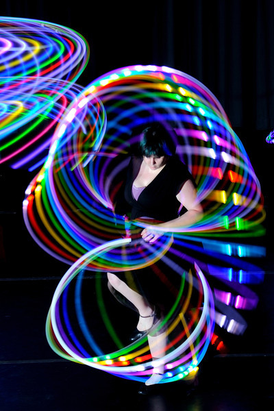 LED Hooping April 2013