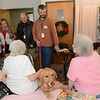 LCC K-9 Comfort Dogs visit The Lutheran Home of Southbury (CT)<br /> <br /> Pictured is Chloe Comfort Dog with Comfort Dogs Kye and JoJo behind.