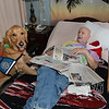 LCC K-9 Comfort Dogs visit The Lutheran Home of Southbury (CT).<br /> <br /> Pictured is Chloe Comfort Dog