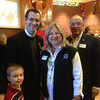 Pastor Rob Morris from Christ the King Lutheran Church, Newtown, CT with LCC staff members Rich and Dona Martin