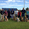 On our way through Moore, OK, the LCC K-9 Comfort Dog Team met with Chaplain Steve Lee of Peace Officer Ministries and Pastor Mark Erler of St Mark Lutheran Church (Edmond, OK) at St. John's Lutheran Church in Moore, Oklahoma.